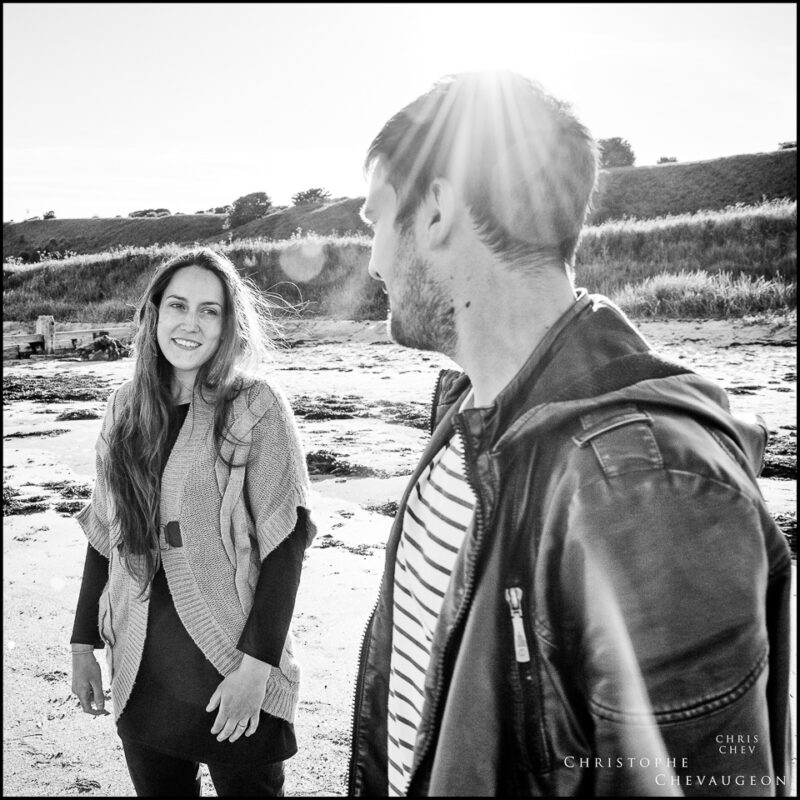 Alnwick Alnmouth Engagement Photography