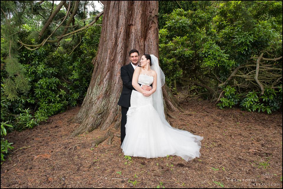 Bride and Groom Linton Hall
