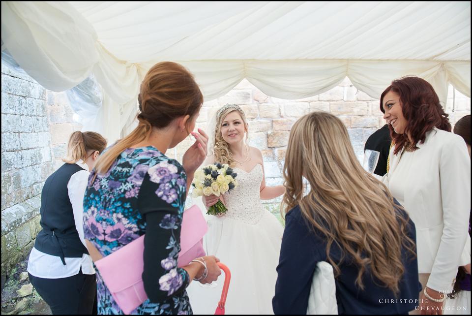 Wedding Reception Photo at Hulne Abbey