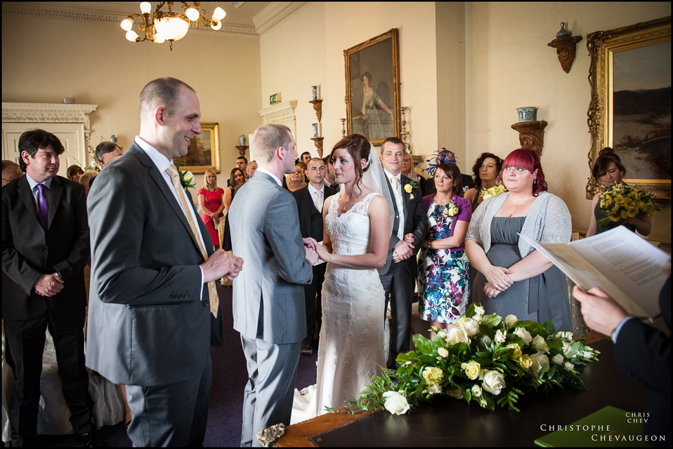 The Wedding Ceremony Lumley Castle