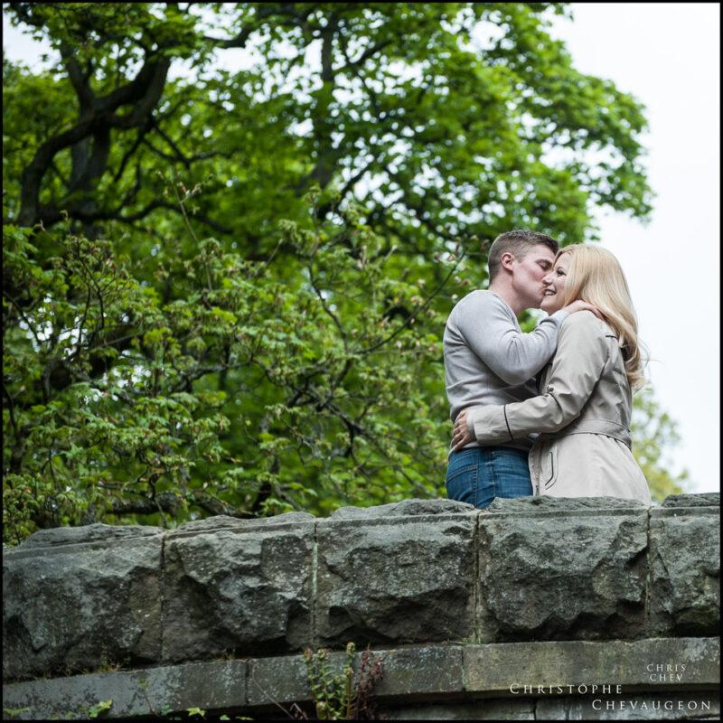 Newcastle Jesmond Dene Engagement Photography