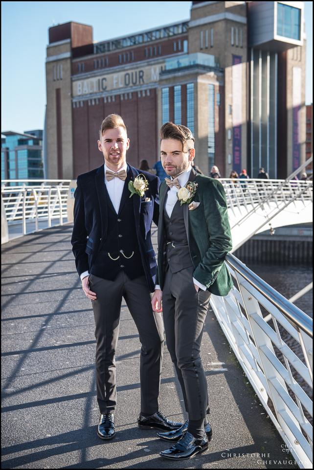 Gay Wedding Photography North East