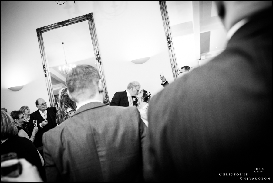Toast after the speeches Horton Grange Country Hotel Wedding
