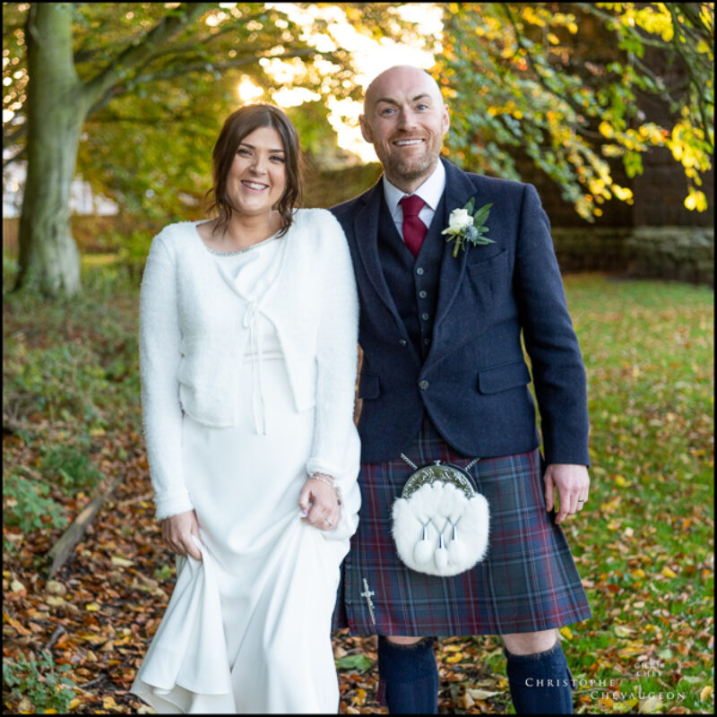 An Autumn Wedding in Wooler and Etal